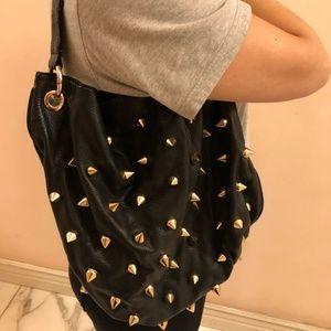 Deux Lux spiked handbag